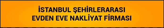 istanbul şehirler arası nakliyat firması