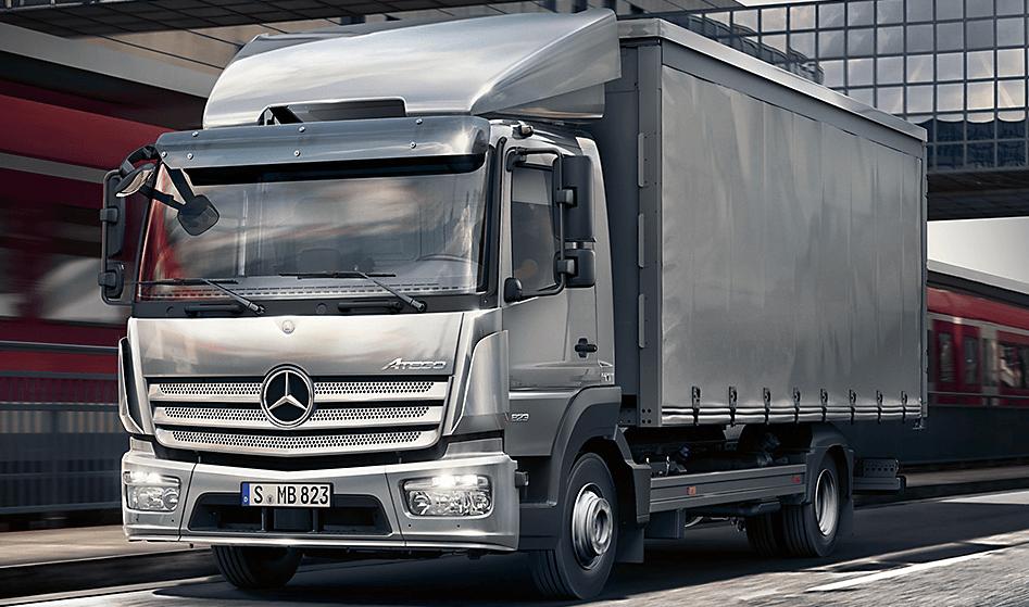 Mercedes Atego yük ve eşya taşıma aracı