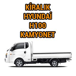 kiralık kamyonet h100 istanbul