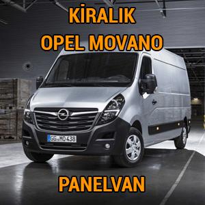 kiralık opel movano panelvan