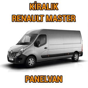 kiralik renault master panelvan